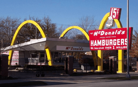 Kroc's First McDonald's Outlet