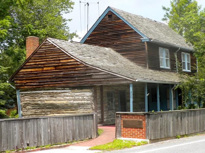 C A Nothnagle Log House