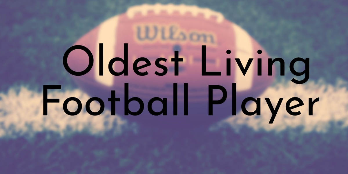 Oldest Living Football Player