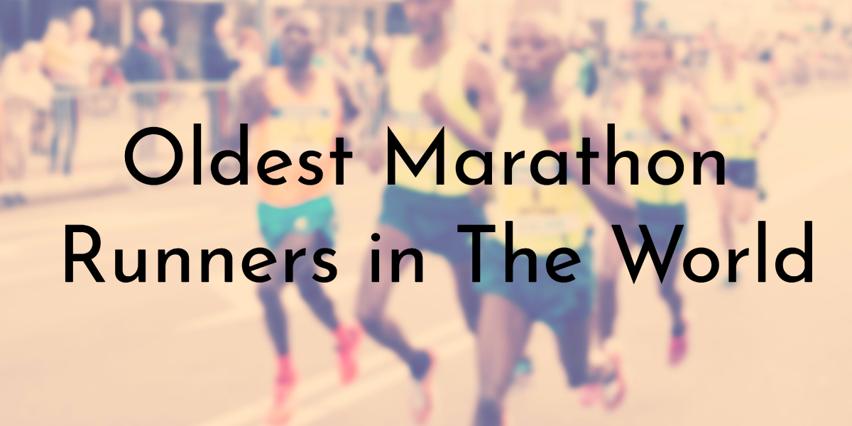 9 Oldest Marathon Runners in The World | Oldest org