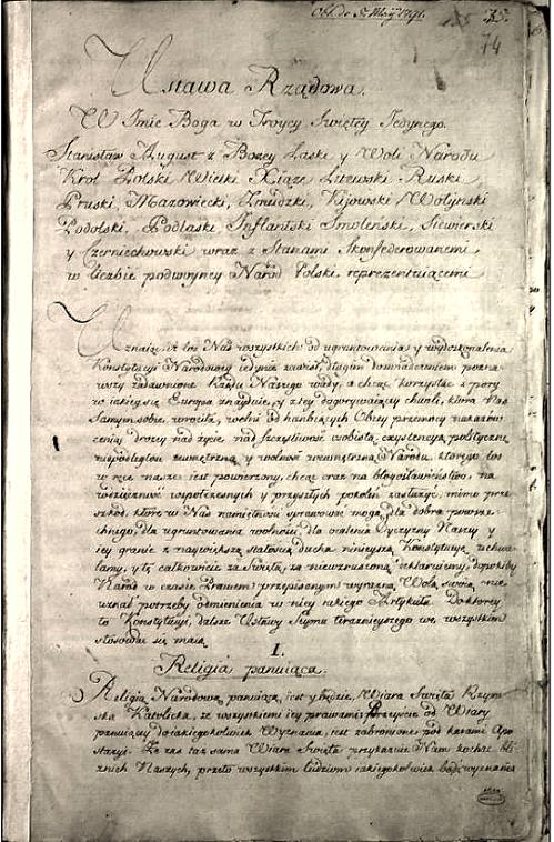 Constitution of the Republic of Poland