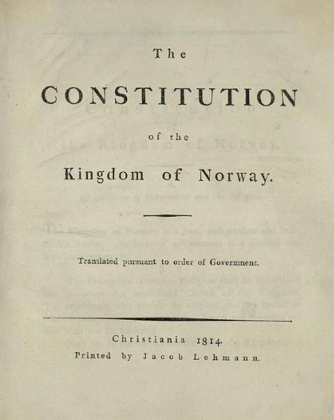 Constitution of Norway
