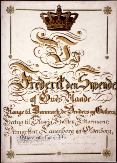 Constitutional Act of the Kingdom of Denmark