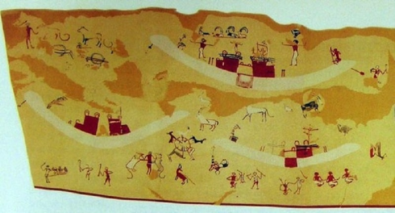 The Oldest Egyptian Painting