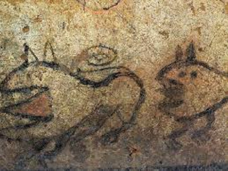 The Oldest Etruscan Painting