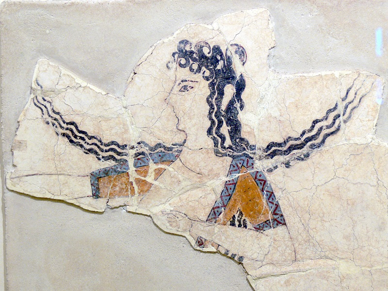 The Oldest Greek Painting