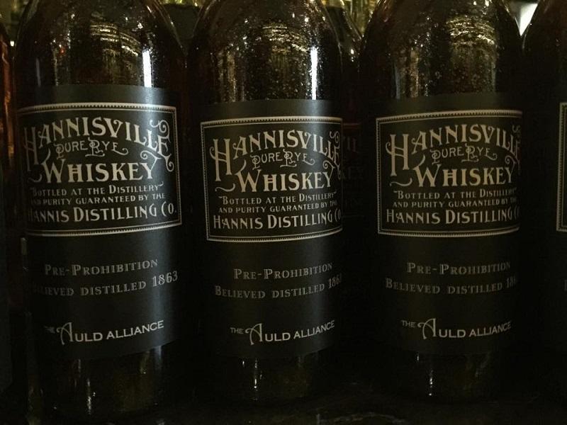 Hannisville Rye Whisky