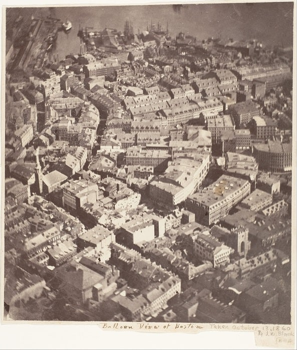 The Oldest Aerial Photograph