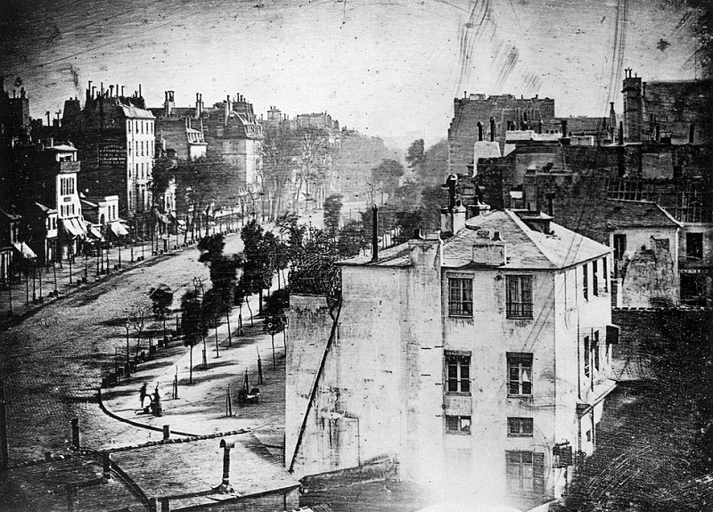 The Oldest Photo of a Human