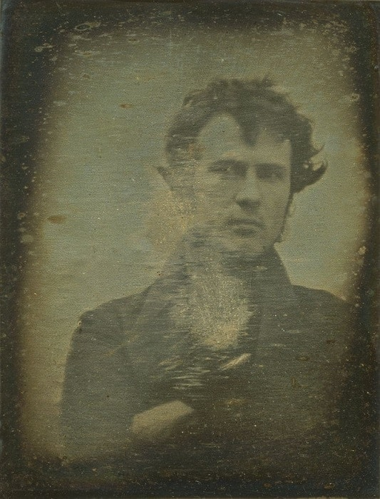 The Oldest Selfie Photograph