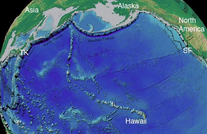 Hawaiian/Emperor Seamounts