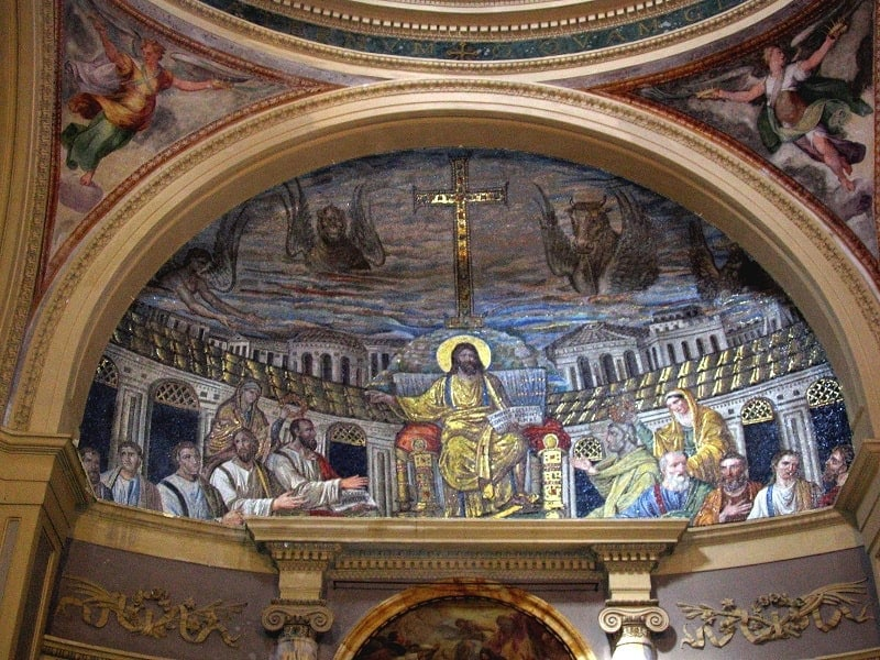 The Mosaic of St. Pudenziana