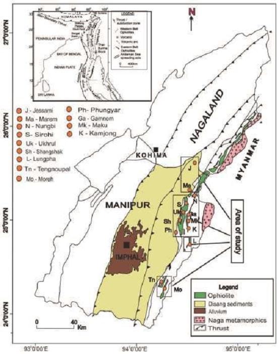 Nagaland-Manipur Ophiolite Belt