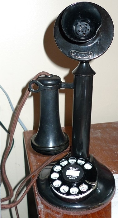 Rotary Dial Candlestick