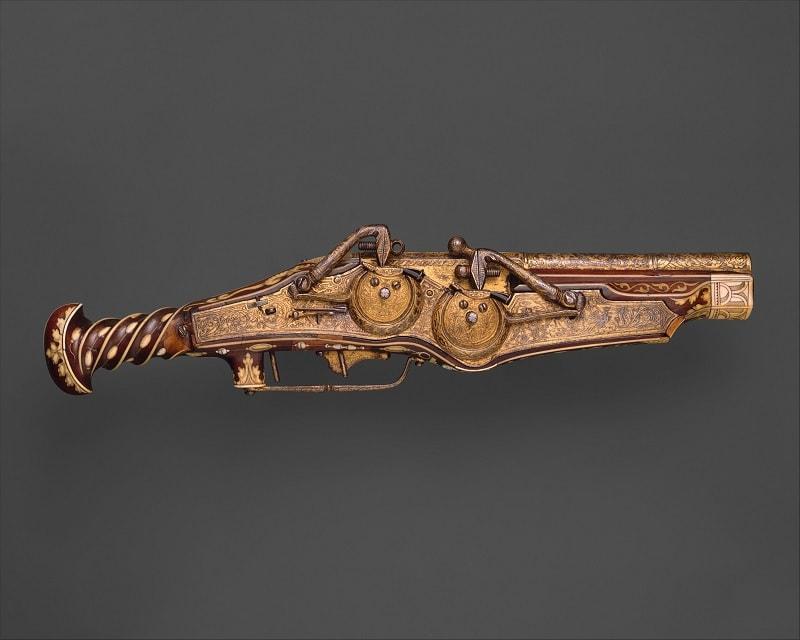 Emperor Charles V's Wheellock Pistol