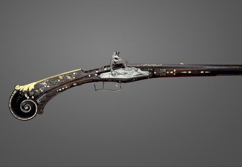 King Louis XIII's Flintlock Gun