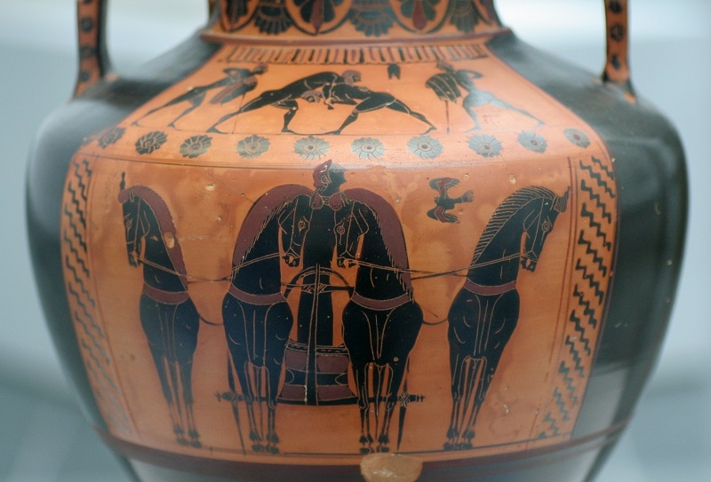 Four-Horse Chariot Racing