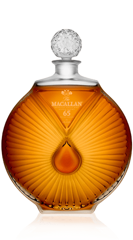 Macallan 65 in Lalique