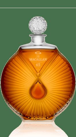 Macallan 65 in Lalique