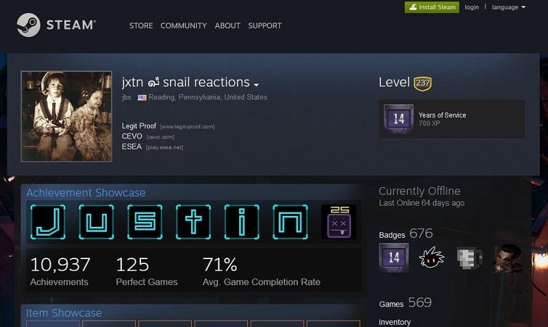 jxtn snail reactions