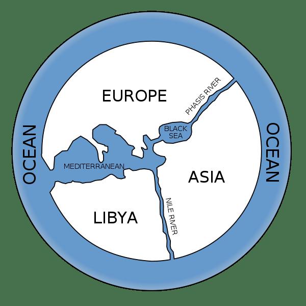 Anaximander's Map