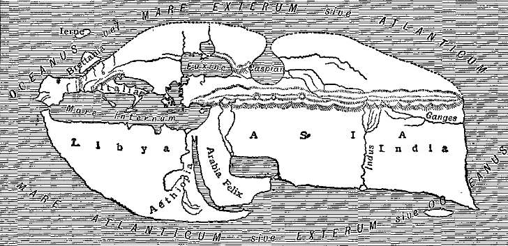 Strabo's Map