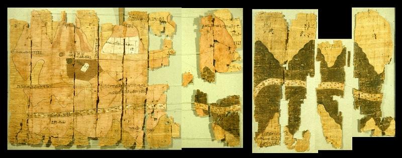 Turin Papyrus Map