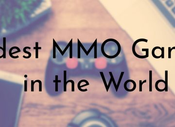 Oldest MMO Games in the World