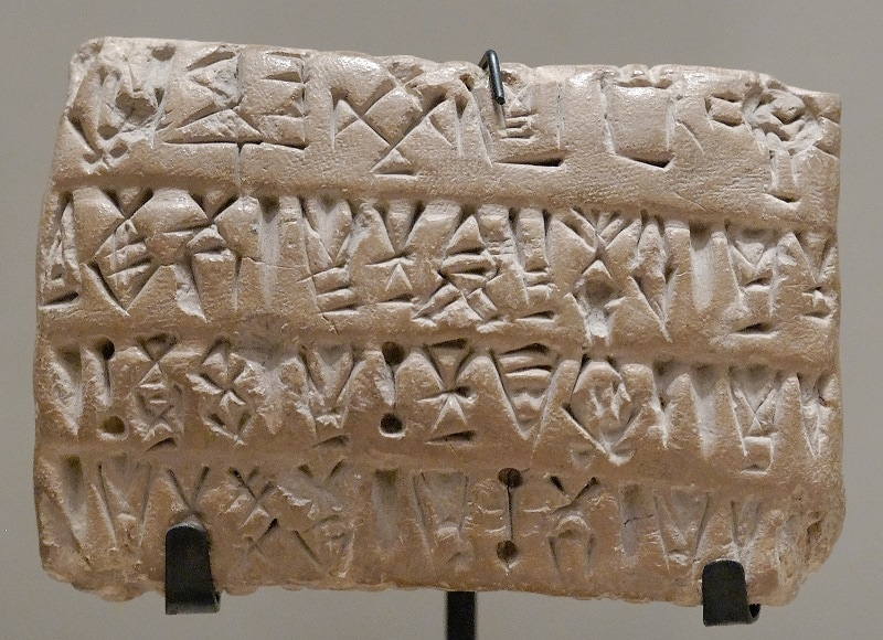 Proto-Elamite Tablets