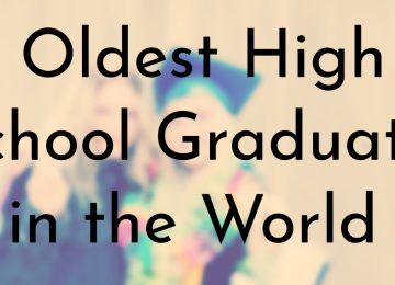Oldest High School Graduates in the World