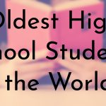 Oldest High School Students in the World