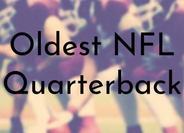 Oldest NFL Quarterback