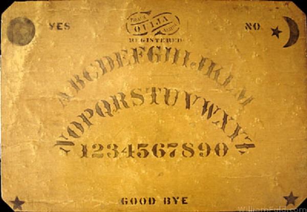 Isaac Fuld & Brother Ouija Board