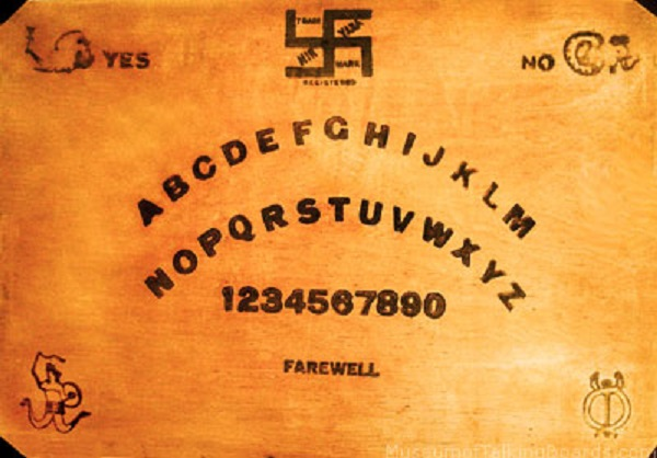 Ouija Board /& PlanchetteSkeletonWoodenSpirit BoardHandmade In USA