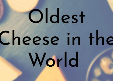 Oldest Cheese in the World