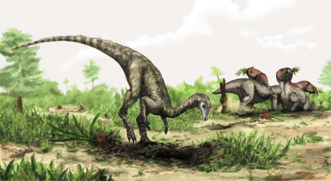 Oldest Dated Dinosaur