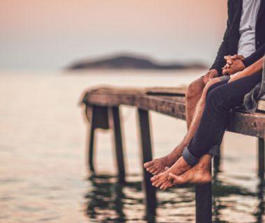 longest marriages couple on a pier