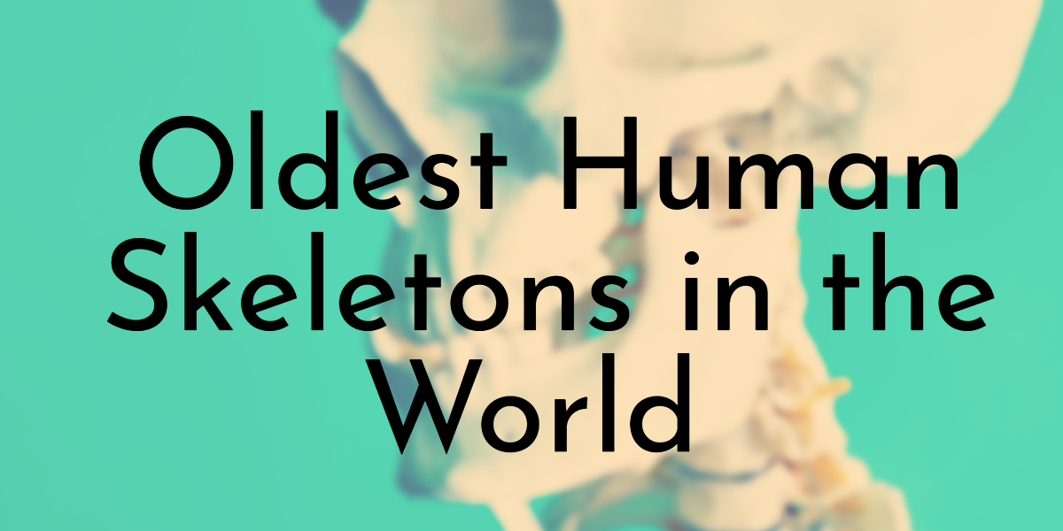 Oldest Human Skeletons in the World