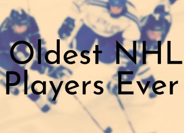 Oldest NHL Players Ever
