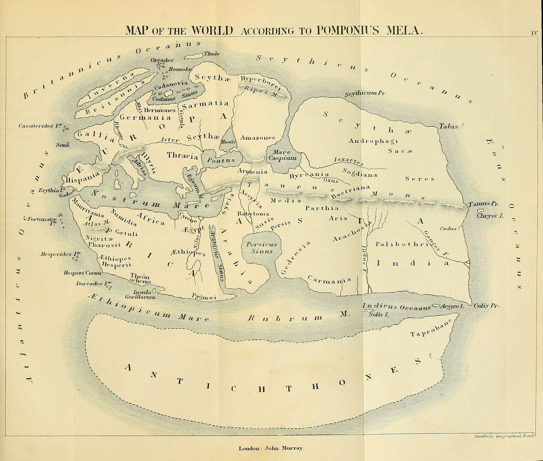 Pomponius Mela's Map
