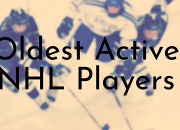 Oldest Active NHL Players