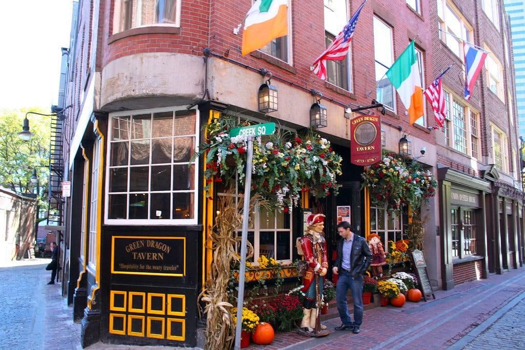 The Green Dragon Tavern