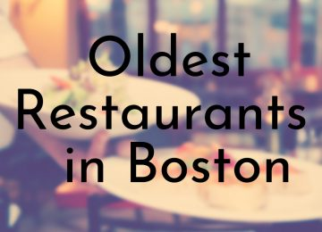 Oldest Restaurants in Boston