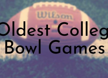 Oldest College Bowl Games