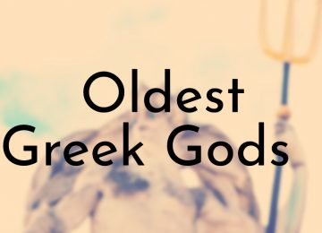Oldest Greek Gods