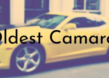 Oldest Camaro