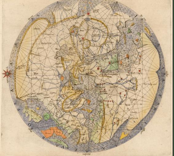 Vesconte's World Map