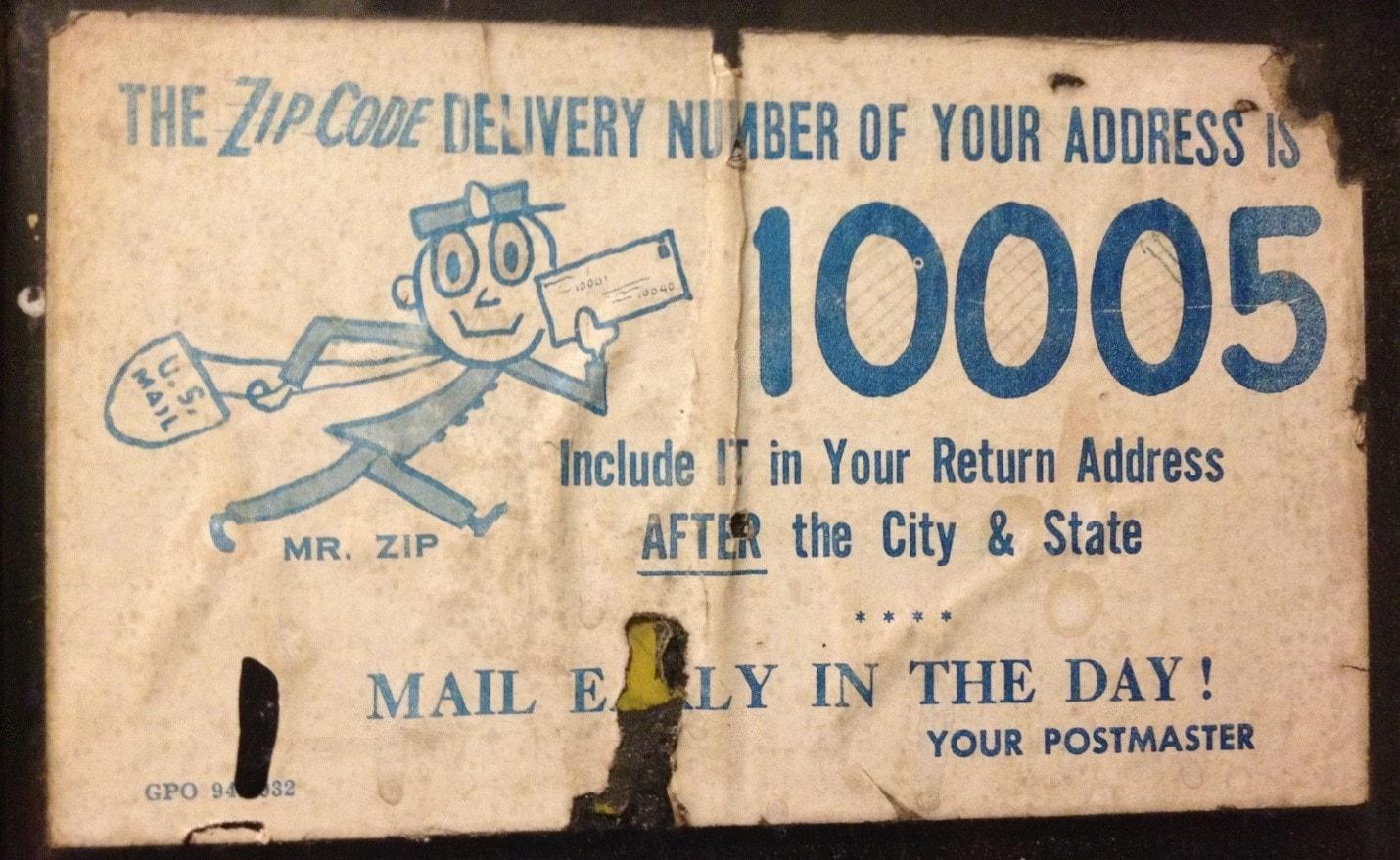 00691 – The First 5-Digit ZIP Code