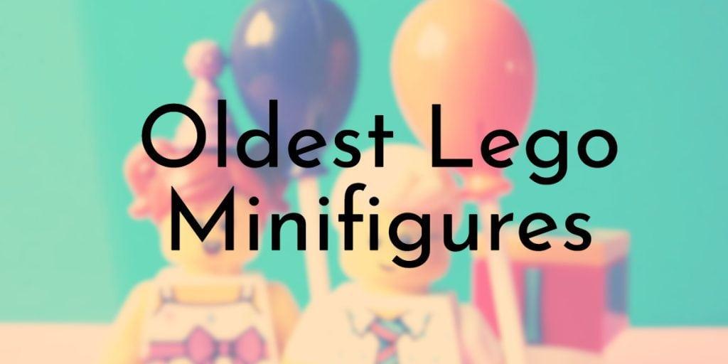 Oldest Lego Minifigures