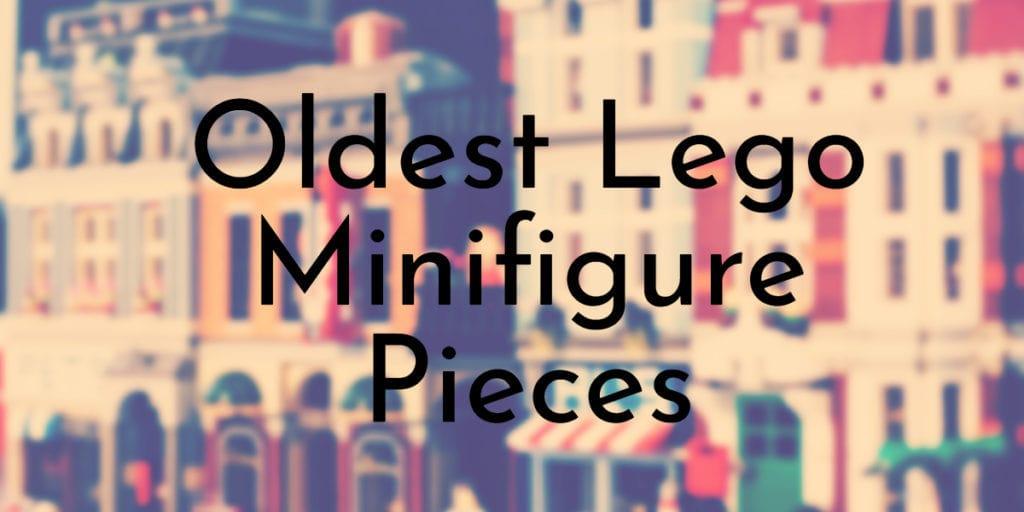 Oldest Lego Minifigure Pieces